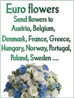 Flower delivery Europe countries